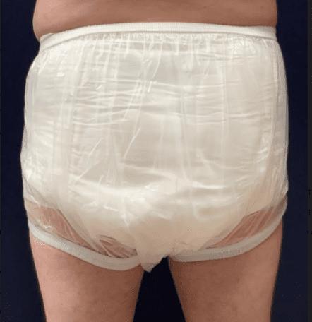 Softwear Adult plastic pants Rear