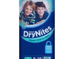 Dri Nites boys - pack 9