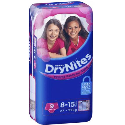 DryNites Girls 9-15yrs