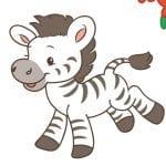 Zack the Zebra from Rearz Safari