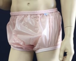 Pink PVC reg height Pant