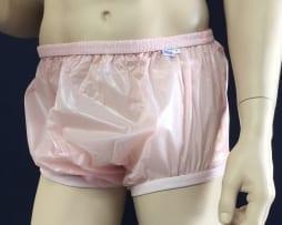 Pink PVC reg height Pant