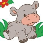 Lilly The Hippo from Rearz Safari