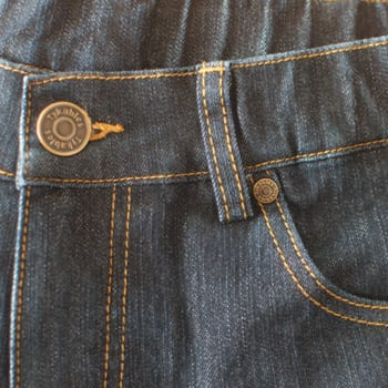 Tykables Blue Denim Stretchy Jeans