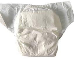 Bambino UltraStretch White adult diaper