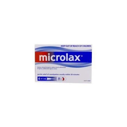 Microlax Enema Tubes x 4