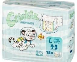 Crinklz Aquanaut Large Pack Adult nappy