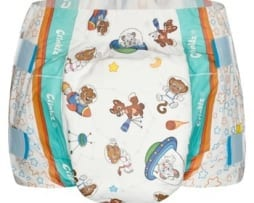 Crinklz Astronouts Adult nappy Front