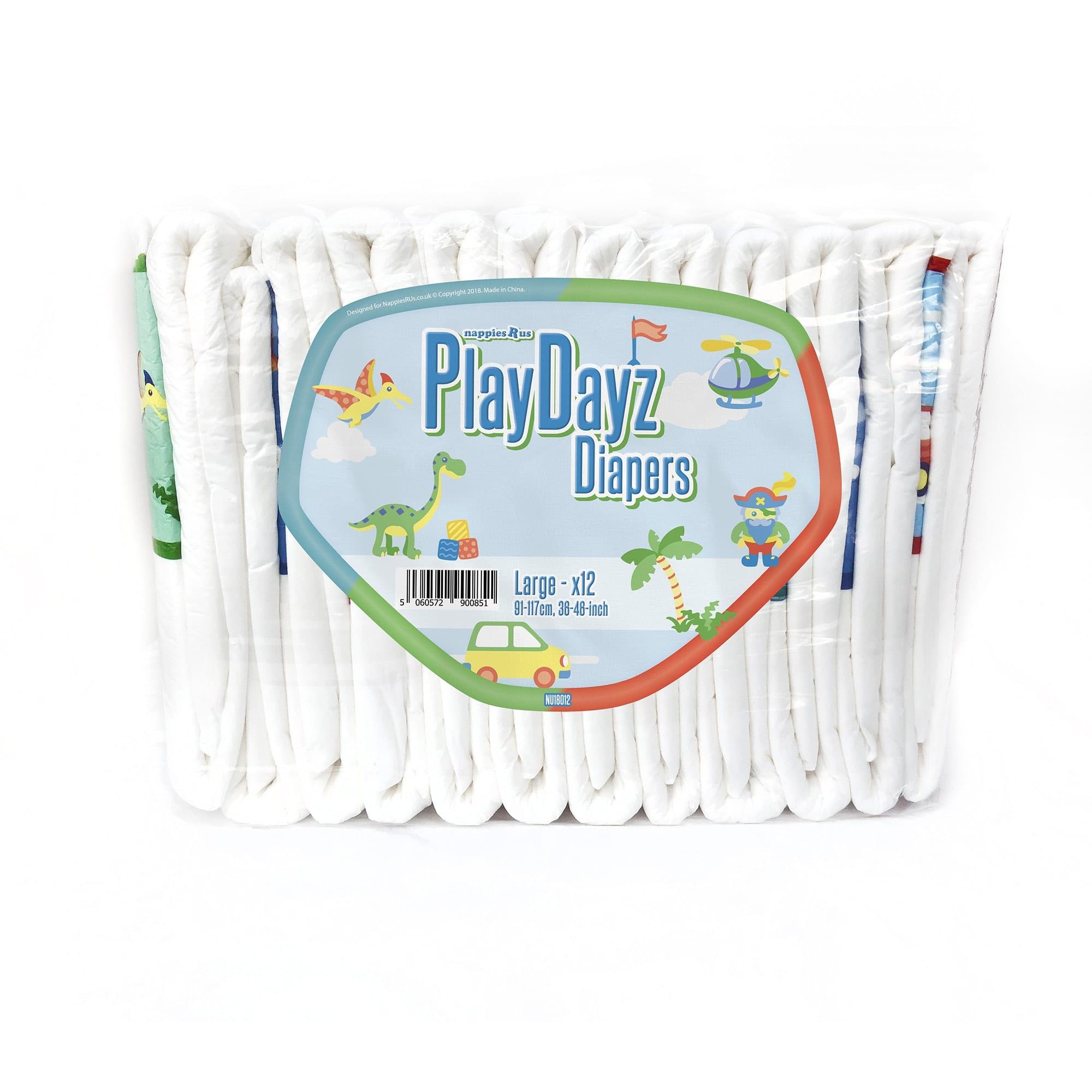 Playdayz Blue Large pack
