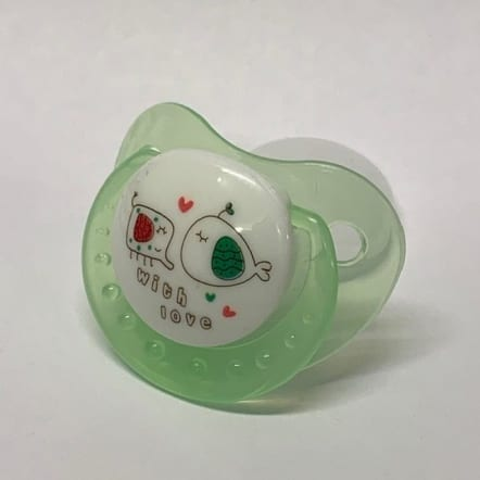 Green With Love Adult Pacifier