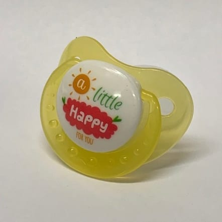 Yellow - A little Happy Adult Pacifier