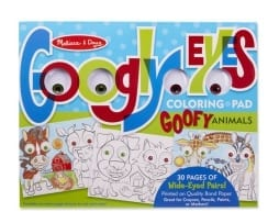googly Eyes colouring set