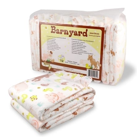 Rearz Barnyard with Two Loose Adult diaper