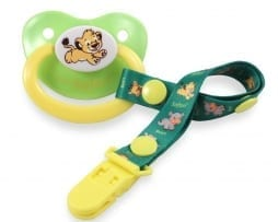 Safari Pacifier Lion
