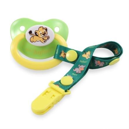 Safari Pacifier Lion