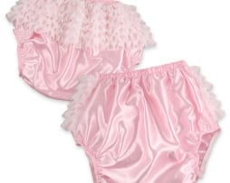 Pink Satin Rhumba Waterproof Pants