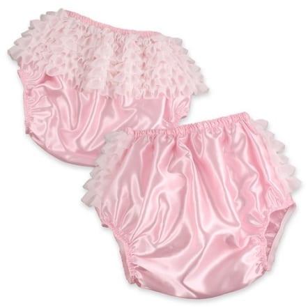 Pink Satin Rhumba Waterproof Pants