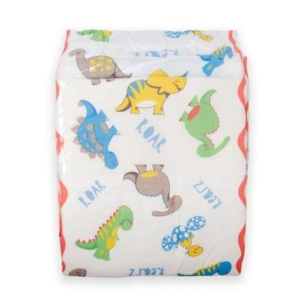 Dinosaur-single-diaper Adult Nappies