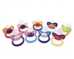 Adult Pacifers MultiColour
