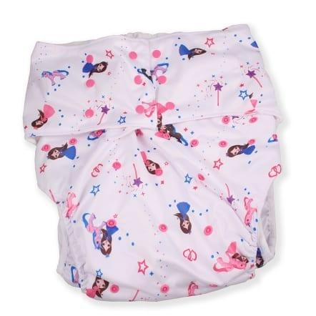 Adult Pocket Diaper - Princess Pink