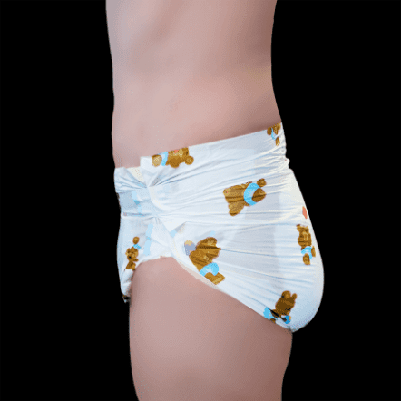 Bambino teddy_v2 adult nappy - side view