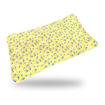Waterproof Incontinence Bed Pad - Yellow Sheep
