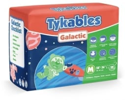 Tykables Galactic Diaper Medium Bag