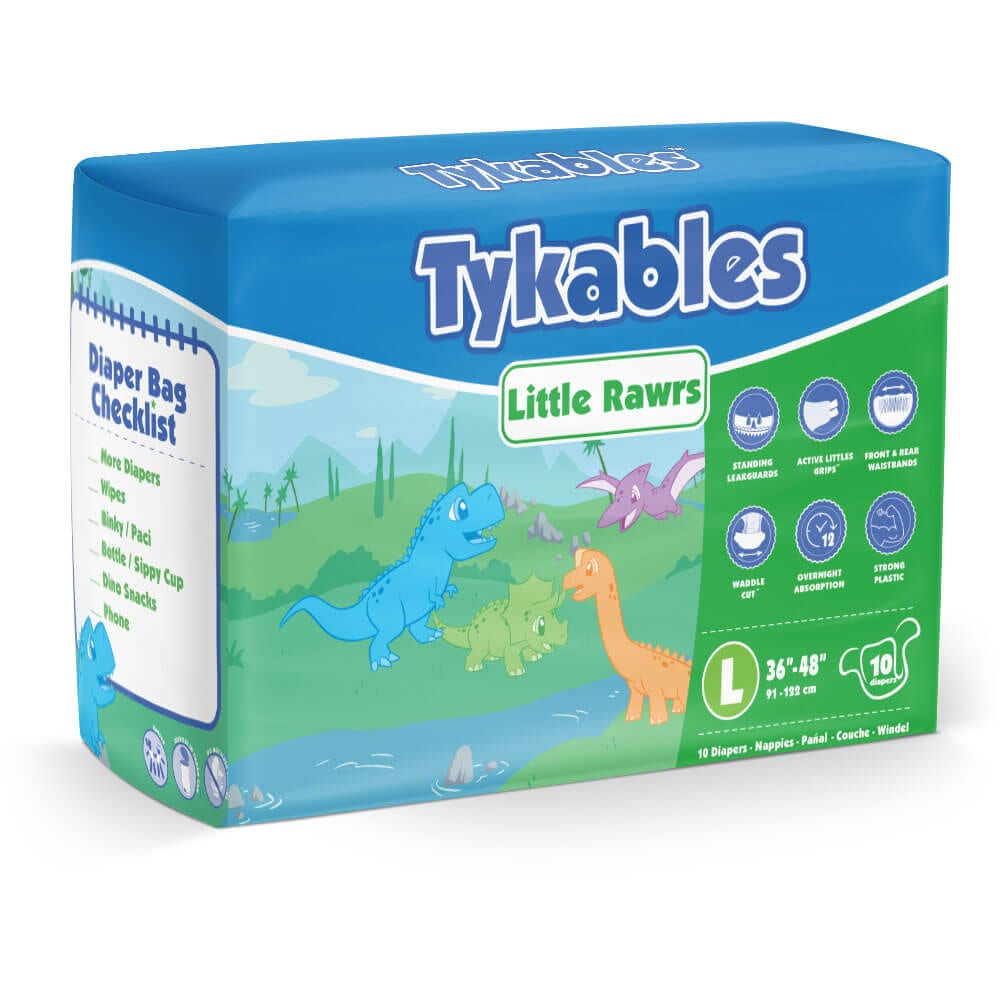 Tykables Little Rawrs Large Bag