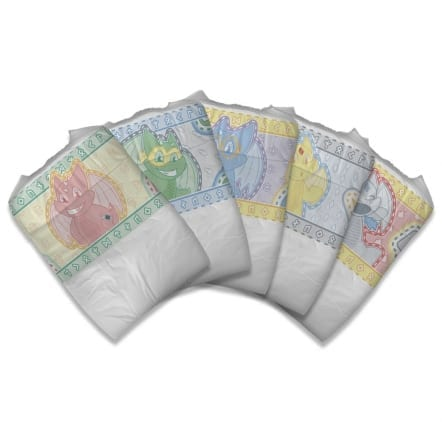 Tykable Camalots Adult Nappies Fanned