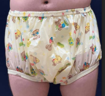 Aussie Bears Adult Plastic Pants