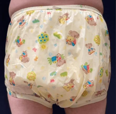 Aussie Bears Adult Plastic Pants rear