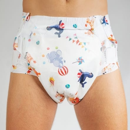 Bambino Karnevalee Adult nappy Front